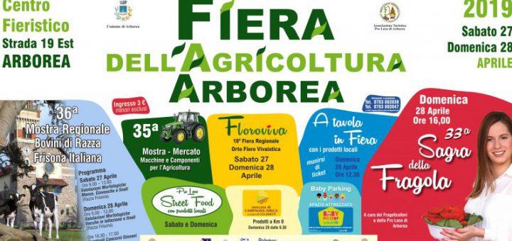 Fiera dell'Agricoltura di Arborea 2019 - Sabato 27 e domenica 28 aprile