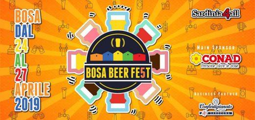 Bosa Beer Festival 2019 - Dal 24 al 27 aprile a Bosa
