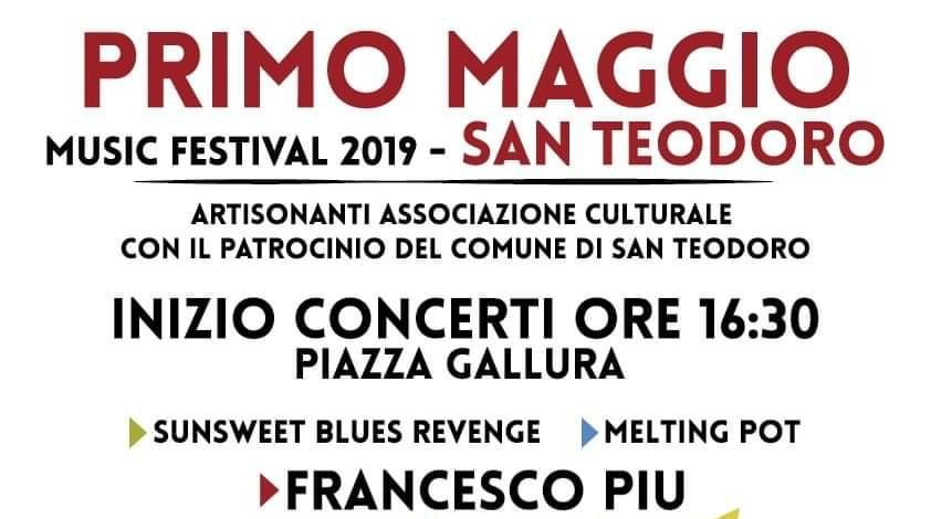 Primo Maggio Music Festival 2019 a San Teodoro