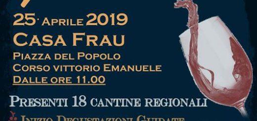 Per Bacco 2019 a Pula - Giovedì 25 aprile