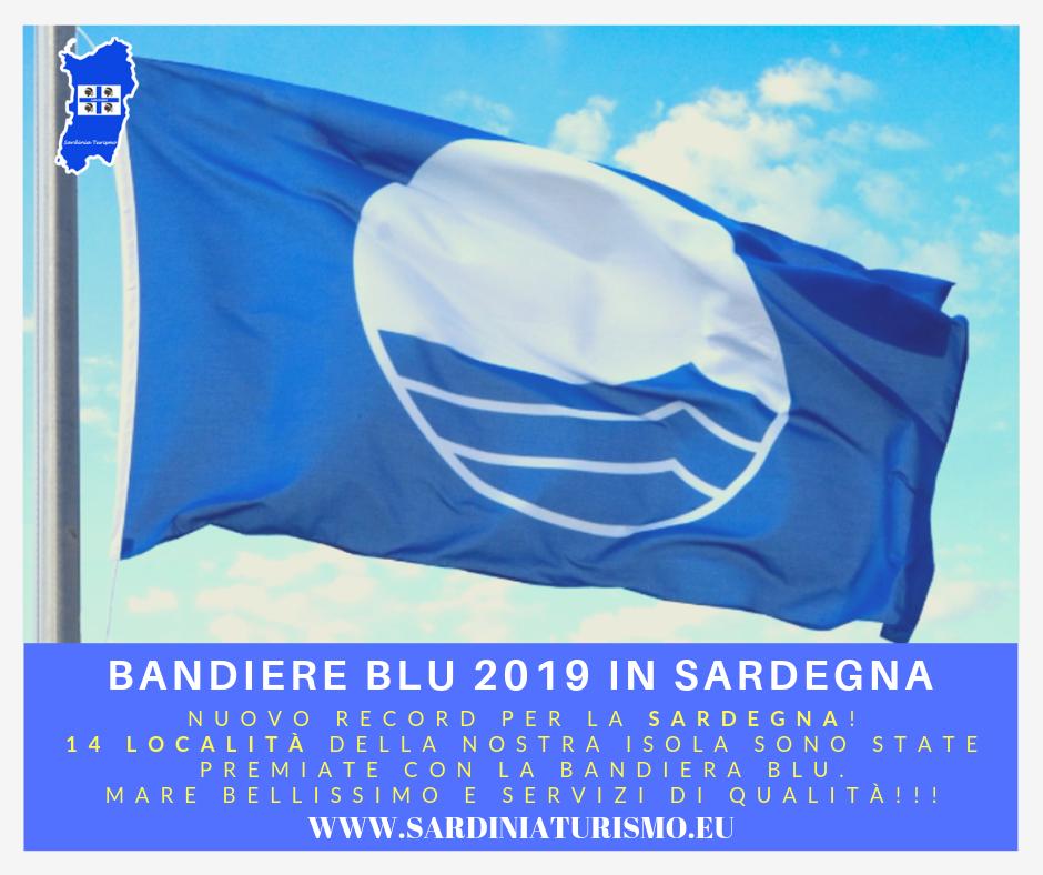 Bandiere blu 2019: sono 14 in Sardegna