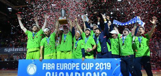 Una grande Dinamo Sassari vince la FIBA Europe Cup