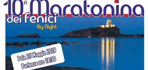Maratonina dei Fenici 2019 - Sabato 25 maggio a Pula