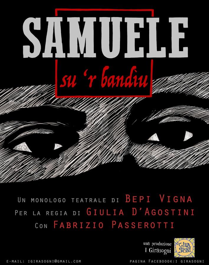 Samuele, su 'r bandiu - 28 giugno a Cagliari