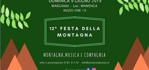 Festa della montagna 2019 a Iglesias- Domenica 9 giugno