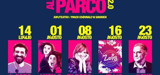Cabaret al Parco 2.0 - A Sarroch dal 14 luglio al 23 agosto 2019