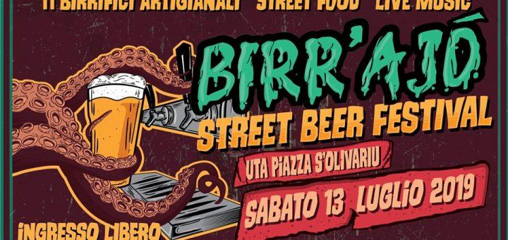 Birr'Ajò Street Beer Festival 2019 - Sabato 13 luglio