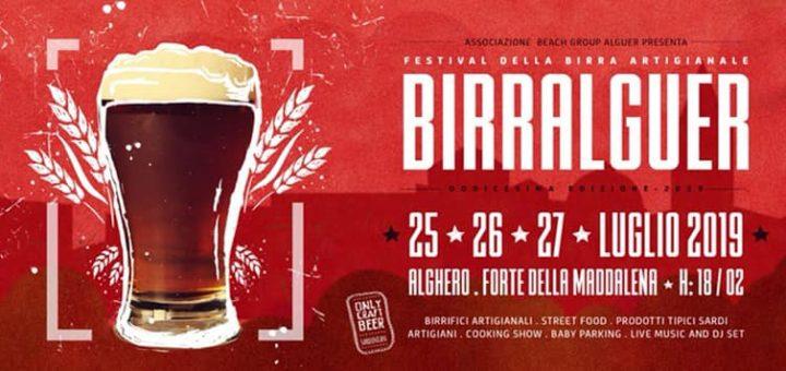 Birralguer 2019 - Dal 25 al 27 luglio ad Alghero