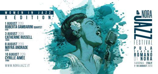 Nora Jazz Festival 2019 - Dall'1 al 10 agosto al Teatro Romano di Nora