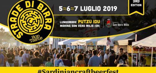 Strade di Birra 2019 - Dal 7 al 9 luglio a San Vero Milis