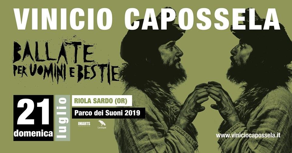 Vinicio Capossela in concerto - Il 21 luglio al Parco dei Suoni di Riola Sardo