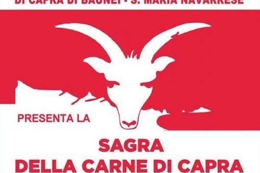 Sagra della carne di capra 2019 a Baunei