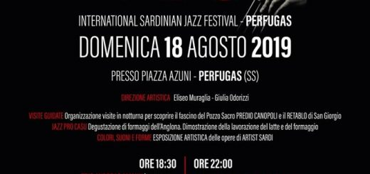 Ajò Jazz International Festival 2019 - Il 18 agosto a Perfugas
