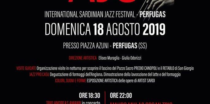 Ajò Jazz International Festival 2019 - Il 18 agosto a Perfugas