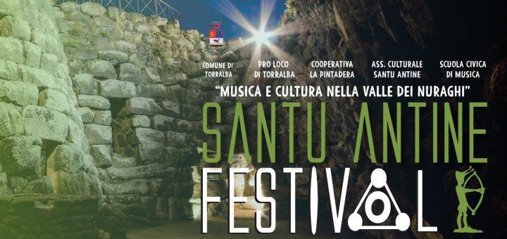 Santu Antine Festival 2019 - A Torralba dal 30 agosto al 1 settembre