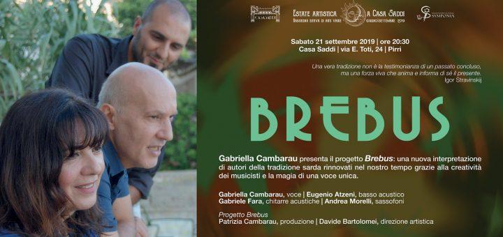 Gabriella Cambarau in concerto a Cagliari il 21 settembre 2019