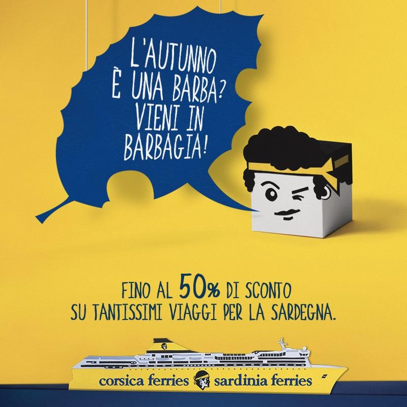 In Barbagia con Sardinia Ferries!