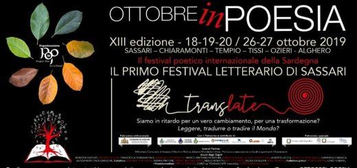 XIII edizione Ottobre in Poesia