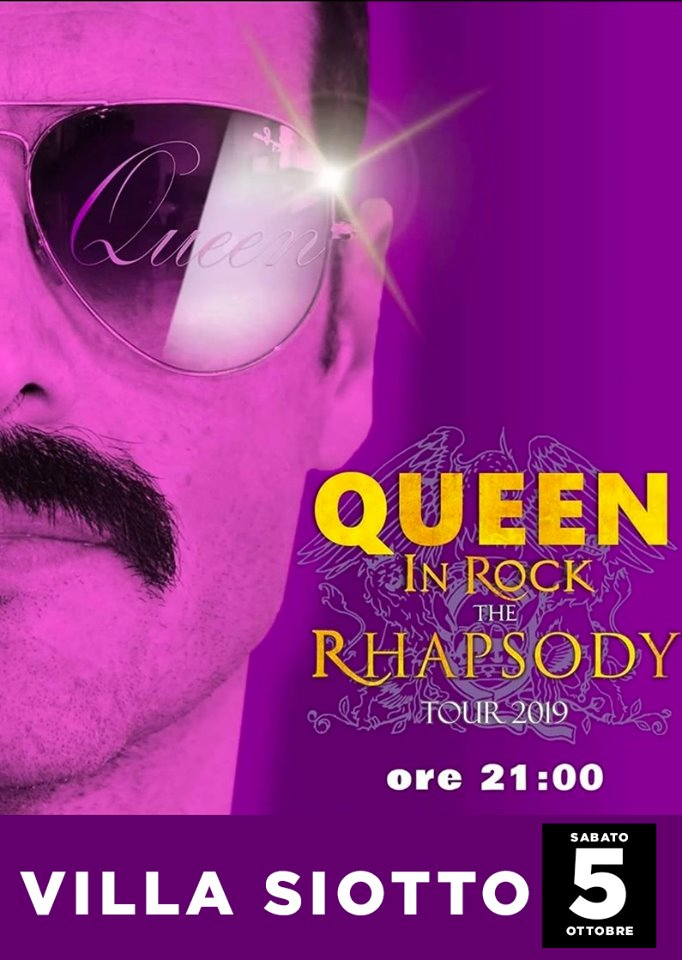 Queen in Rock: the Rapsodya- A Sarroch sabato 5 ottobre 2019
