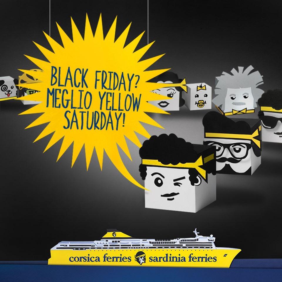 Settimana del Black Friday 2019 con Corsica Sardinia Ferries