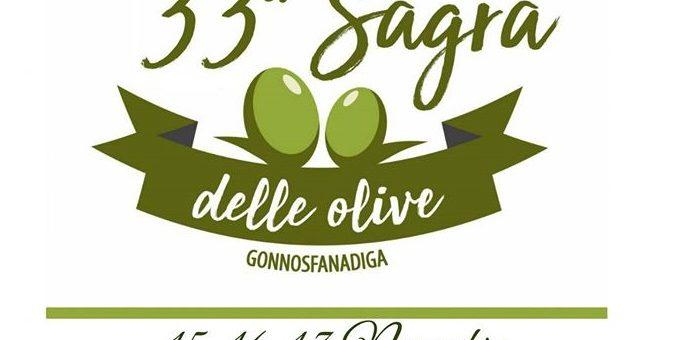 Sagra delle olive 2019 a Gonnosfanadiga: dal 15 al 17 novembre