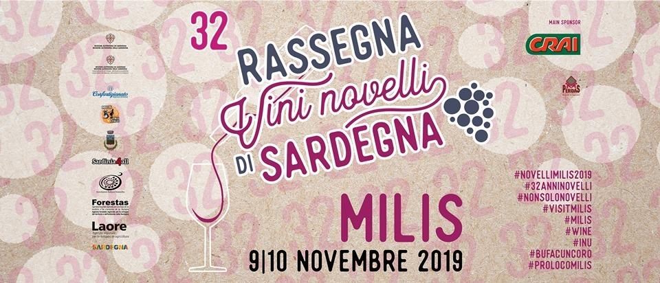 Vini Novelli di Sardegna 2019 a Milis