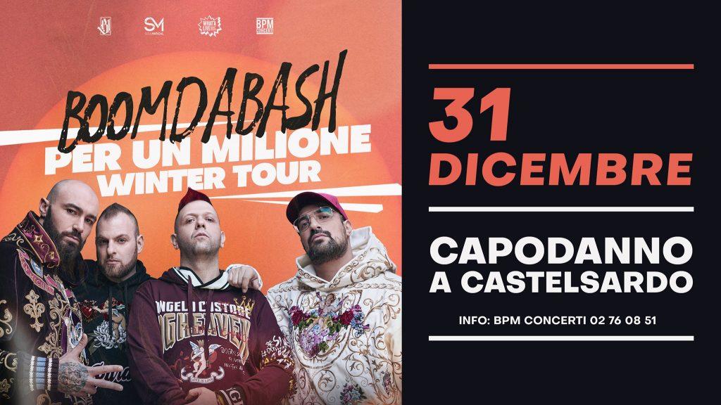 Boomdabash al Capodanno 2020 a Castelsardo