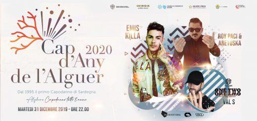 Cap d'Any 2020 ad Alghero