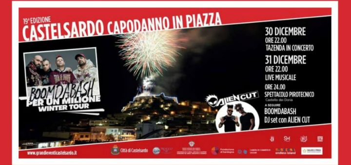 Capodanno 2020 a Castelsardo