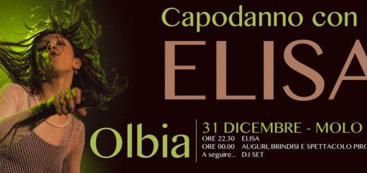 Capodanno 2020 a Olbia con Elisa