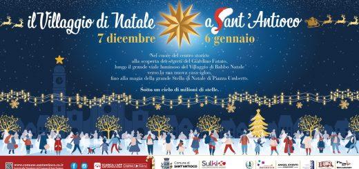 Villaggio di Natale 2019 a Sant'Antioco