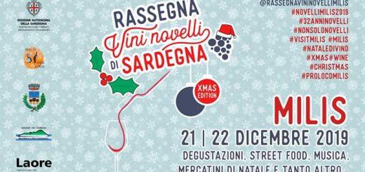 Rassegna dei Vini Novelli 2019 Christmas Edition a Milis