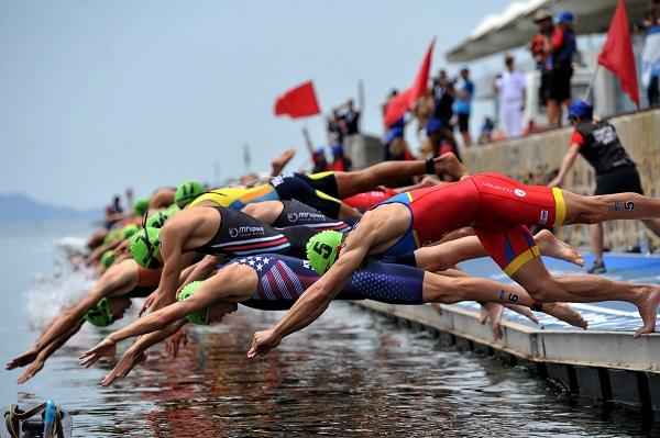 La Triathlon World Cup ad Arzachena per il prossimo triennio