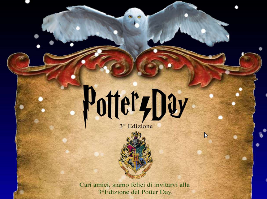 Harry Potter Day 2020 a Cagliari