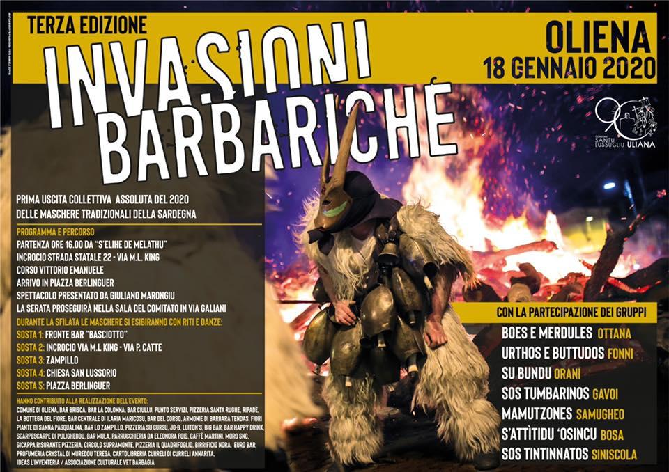 Invasioni Barbariche 2020