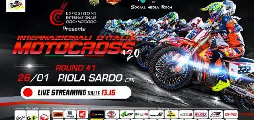 Internazionali d'Italia di Motocross 2020 a Riola Sardo