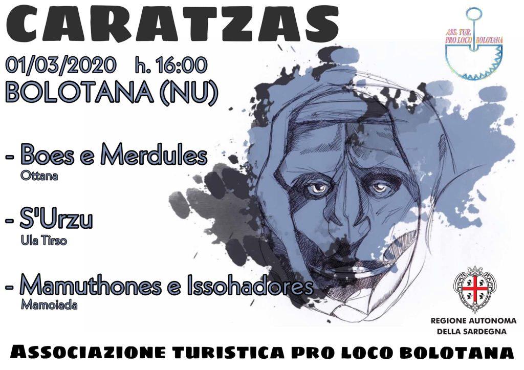 Caratzas 2020 a Bolotana