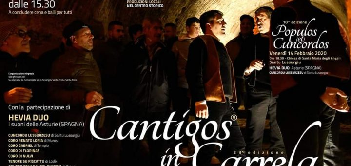 Cantigos in Carrela 2020