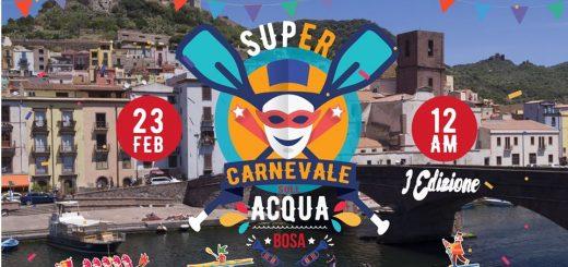 SUPer Carnevale sull'Acqua a Bosa