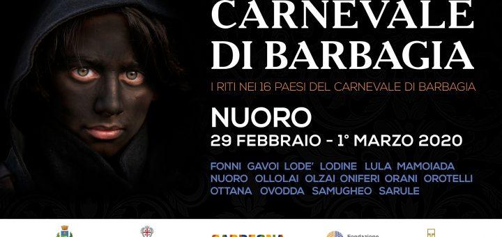Carnevale di Barbagia 2020: a Nuoro dal 29 febbraio al 1 marzo