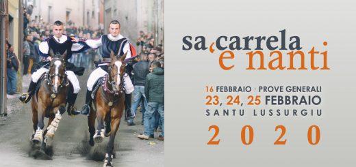 Sa Carrela 'e Nanti 2020 a Santu Lussurgiu