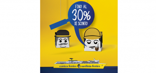 Fino al 30% di sconto sui traghetti con Corsica Sardinia Ferries!