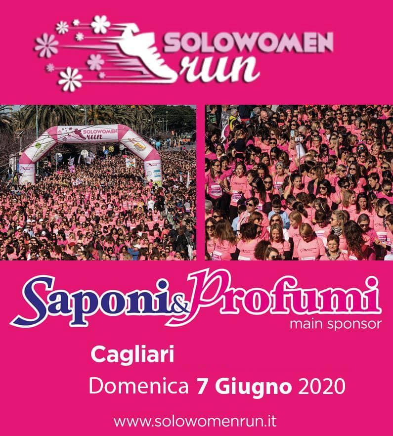 Cagliari SoloWomenRun 2020 rinviata al 7 giugno a causa del Coronavirus