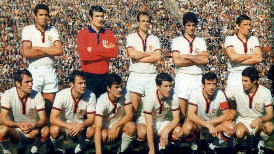 Cagliari 1970: la squadra