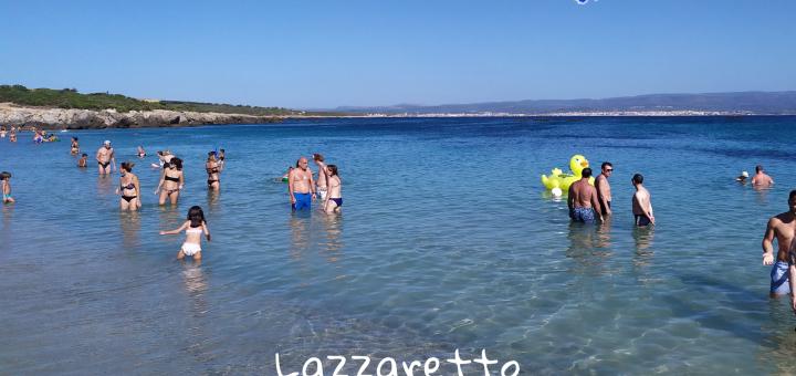 Spiaggia del Lazzaretto ad Alghero
