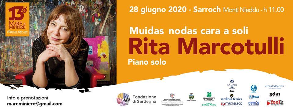 Mare e Miniere 2020 parte da Sarroch: il 28 giugno Rita Marcotulli in concerto