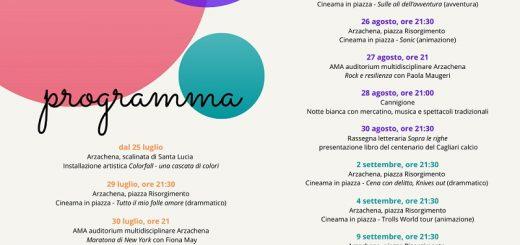 il programma dell'Arzachena Summer Festival 2020