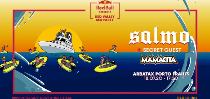 Red Valley Sea Party: ad Arbatax il18 luglio 2020