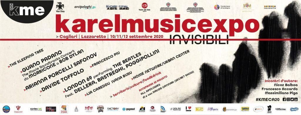 Karel Music Expo 2020: dal 10 al 12 settembre a Cagliari