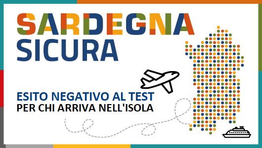 Test Covid obbligatorio per chi arriva in Sardegna